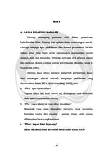 Penyusunan Strategi Kreatif Iklan Teh Botol Sosro Produksi Matari